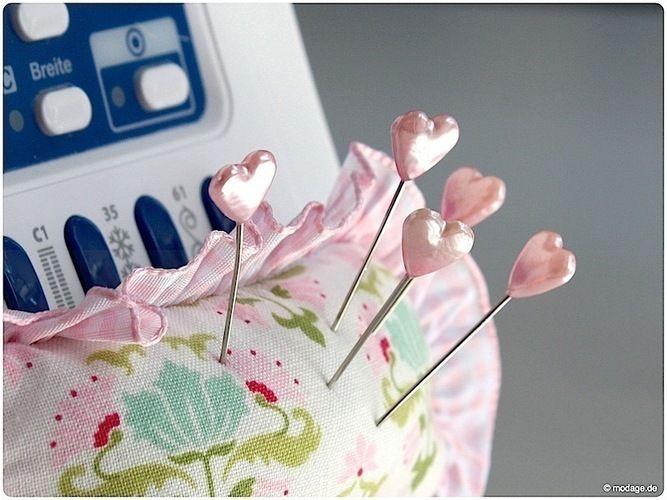 Makerist - Ein Nadelkissen für die Nähmaschine - Nähprojekte - 1