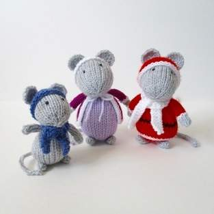 Makerist - Festive Mice - 1