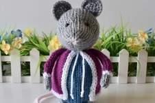 Makerist - Christmas Mouse - 1