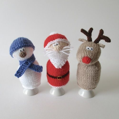 Makerist - Christmas Egg Cosies - Knitting Showcase - 1