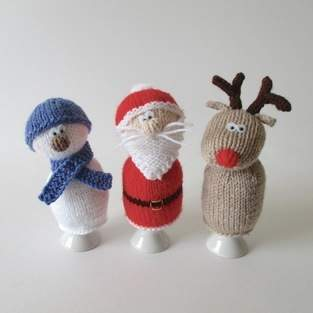 Makerist - Christmas Egg Cosies - 1