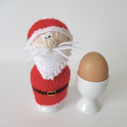 Makerist - Christmas Egg Cosies - Knitting Showcase - 2