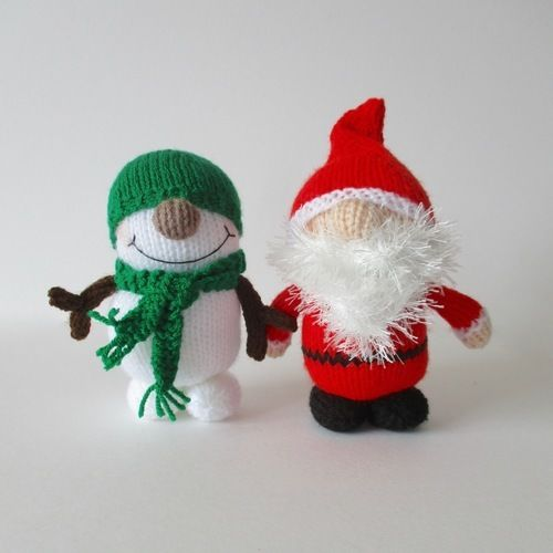 Makerist - Santa and Snowman - Knitting Showcase - 1