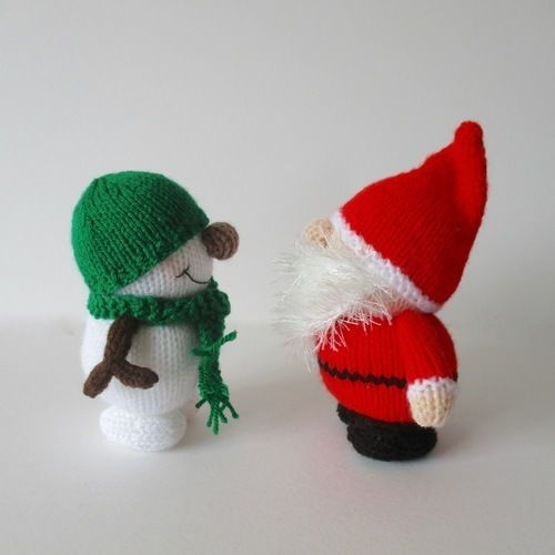Makerist - Santa and Snowman - Knitting Showcase - 2