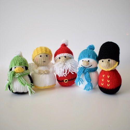 Makerist - Christmas Tree Decorations - Knitting Showcase - 1