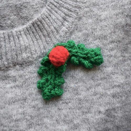 Makerist - Holly Leaves - Knitting Showcase - 2