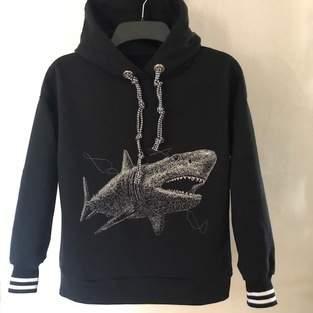 Makerist - Hoodie Lukas der Hai-Fan - 1
