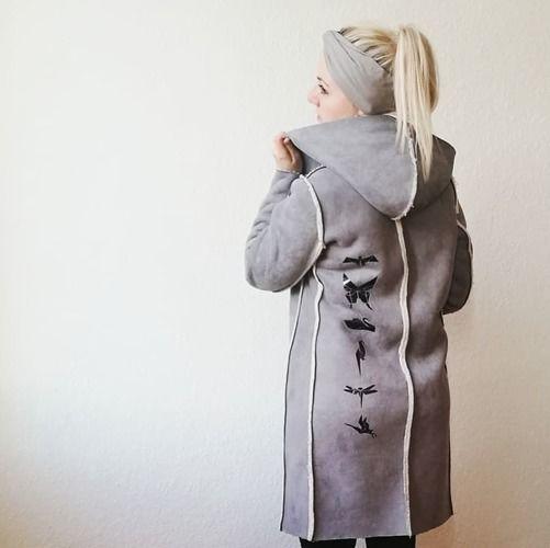 Makerist - Mantel aus Kunstfell - Nähprojekte - 2