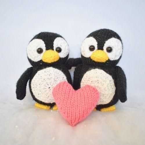 Makerist -  Penguins - Knitting Showcase - 1