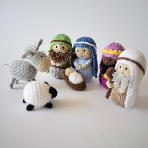 Makerist - Nativity - Knitting Showcase - 1