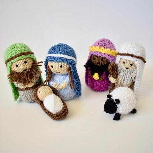 Makerist - Nativity - Knitting Showcase - 2
