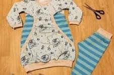 Makerist - Hoodiekleid Zuckerwölkchen aus Jersey für meine Prinzessin  - 1
