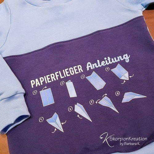 Makerist - Papierflieger falten - Textilgestaltung - 1