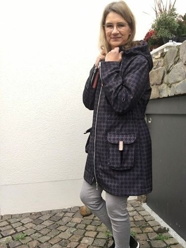 """Makerist - Parka / Kurzmantel """"Winneke"""" aus Softshell für Damen  - Nähprojekte - 2"""
