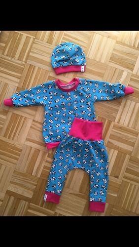 Makerist - Baby Set aus Jersey in Größe 80 - Nähprojekte - 1