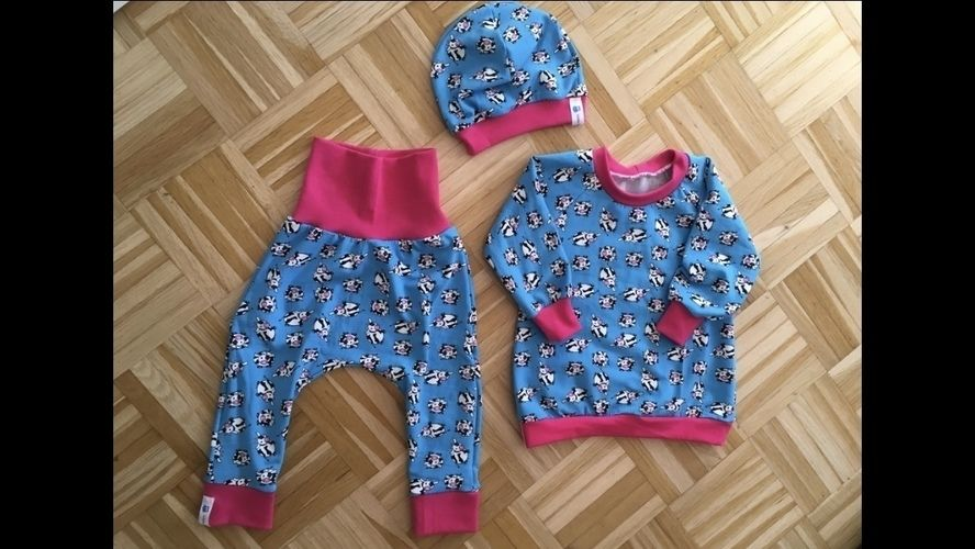 Makerist - Baby Set aus Jersey in Größe 80 - Nähprojekte - 2