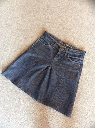 Makerist - Aus Jeans mit Loch wird neuer Rock - Nähprojekte - 1