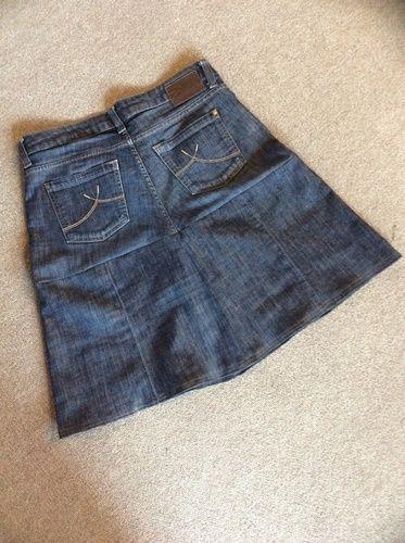 Makerist - Aus Jeans mit Loch wird neuer Rock - Nähprojekte - 2