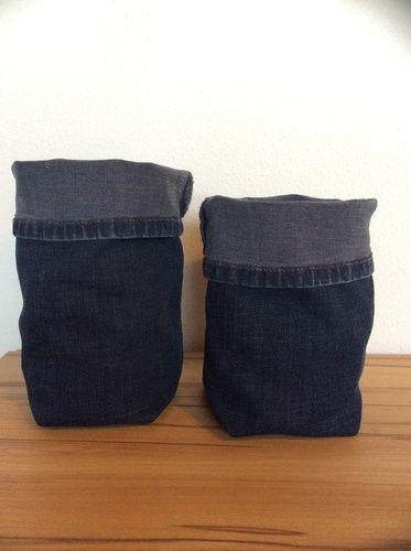 Makerist - 5 Minuten Jeans Utensilo - Nähprojekte - 1