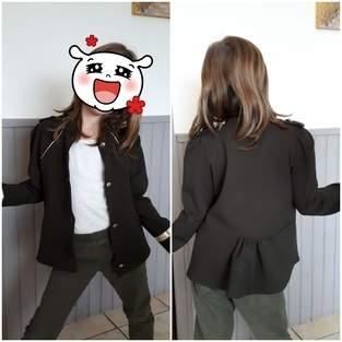 Makerist - veste Sarah pour filles - 1