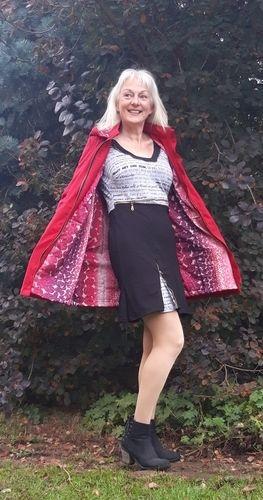 Makerist - Parka Winneke in rot aus Canwax light in Gr.38 mit FBA  - Nähprojekte - 3