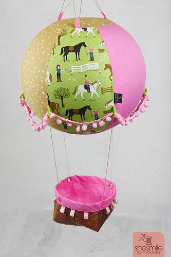 Makerist - Ein Adventskalender Adventsballon mit Pferden für meine Tochter - Nähprojekte - 1