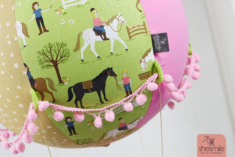 Makerist - Ein Adventskalender Adventsballon mit Pferden für meine Tochter - Nähprojekte - 2