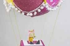 Makerist - Ein Adventskalender Adventsballon mit Flamingos für meine Tochter - 1