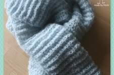 Makerist - gehäkelter Schal - 1