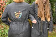 Makerist - Mein Winneke-Parka nach einem Schnitt von Schnittmusterlounge aus Jeans - 1