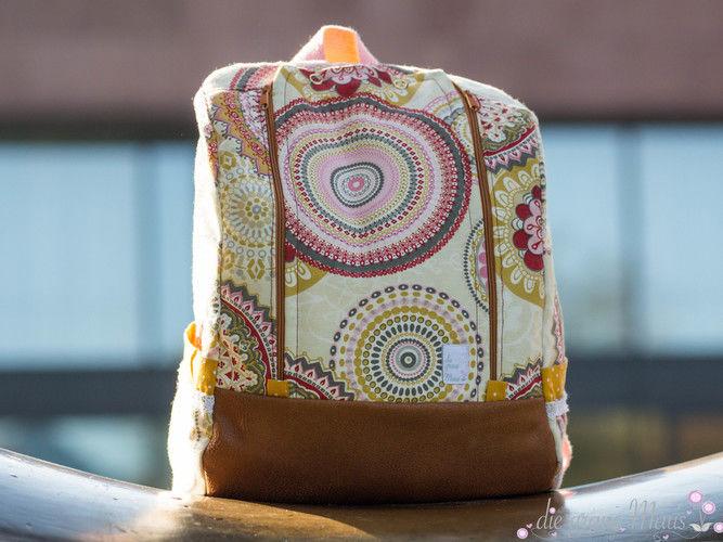 Makerist - Mandala Klappack - Nähprojekte - 1