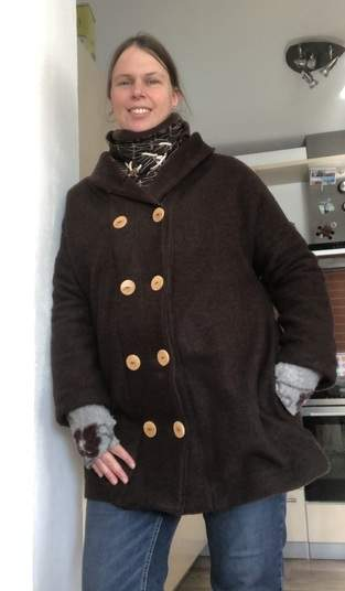 Makerist - Mantel aus Wollwalk - 1
