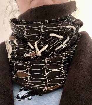 Makerist - Ösenschal für meinen Mantel  - 1