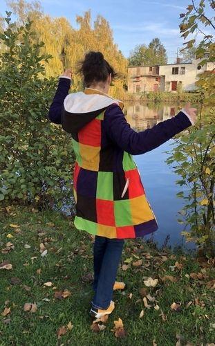 Makerist - Eine Hippie-Patchwork-Winneke - Nähprojekte - 3