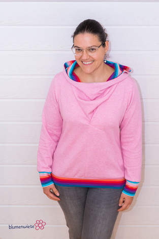 Farbenfroher Hoodie