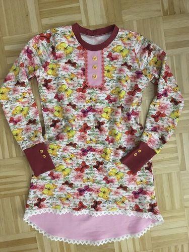 Makerist - TSHIRT SHIRTYLU aus Sweatshirtstoff in Größe 134  - Nähprojekte - 1