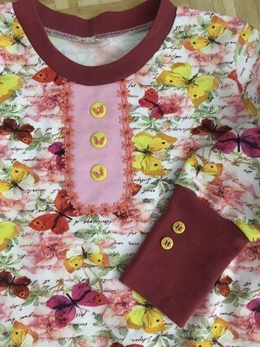 Makerist - TSHIRT SHIRTYLU aus Sweatshirtstoff in Größe 134  - Nähprojekte - 2