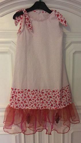 Makerist - Sommer Kleid in 134 - Nähprojekte - 1