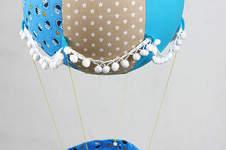 Makerist - Ein Adventskalender Adventsballon mit Krümelmonster in blau-gelb für mein Patenkind - 1