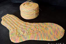 Makerist - Socken mit Lace - 1