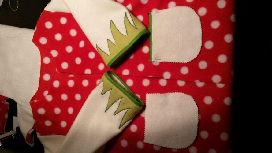 Makerist - Wunderschöne Fliegenpilz Jacke aus Fleece für mein Töchterchen - Nähprojekte - 2