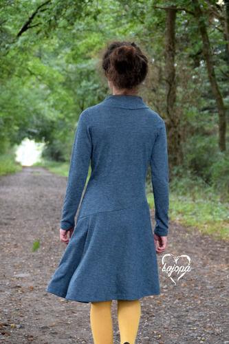 Makerist - Ein schlichtes Kleid für die Tochter - Lykka von Mamili - Nähprojekte - 2