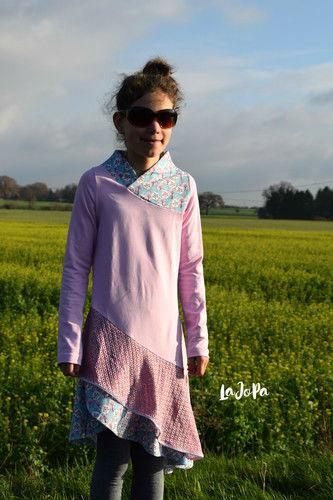 Makerist - Kleid Lykka Kids von Mamili etwas aufwendiger genäht - Nähprojekte - 1