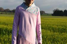 Makerist - Kleid Lykka Kids von Mamili etwas aufwendiger genäht - 1
