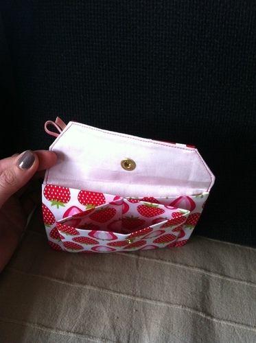 Makerist - Erdbeersüßes Portemonnaie - Nähprojekte - 2