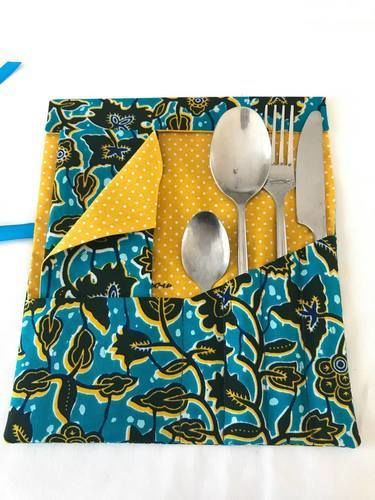 Makerist - Pochette à couverts TAHAA - Créations de couture - 1