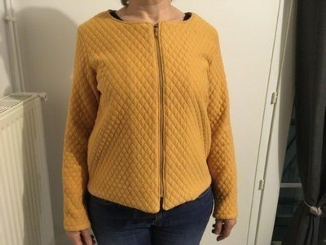 Makerist - La veste Japon, veste en jersey matelassé - Créations de couture - 1