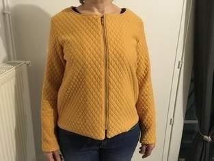 Makerist - La veste Japon, veste en jersey matelassé - 1