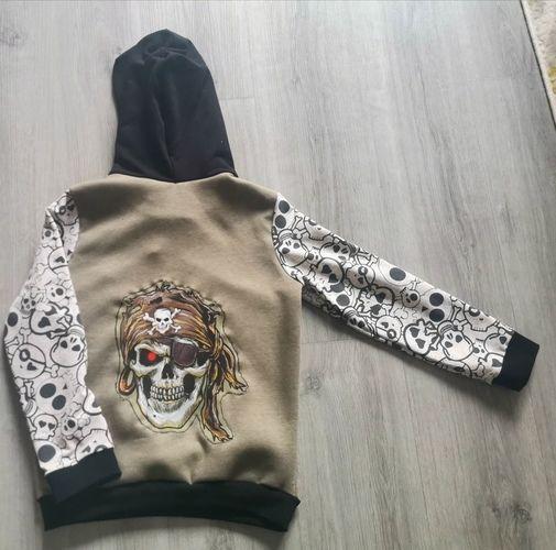Makerist - Totenkopf hoodie - Nähprojekte - 2