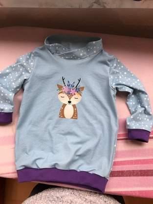 Pullover/Shirt Pele für meine Enkelkinder